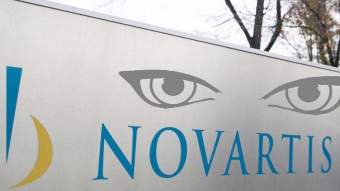 Novartis φαίνεται να ακολουθεί πρακτικές μυστικών υπηρεσιών