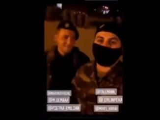 Αλβανοί δίνουν παραγγέλματα σε Έλληνες στρατιώτες