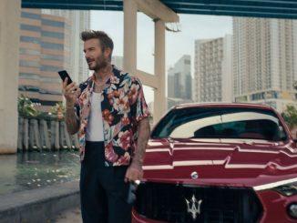 Ο Ντέιβιντ Μπέκαμ παγκόσμιος πρεσβευτής της Maserati