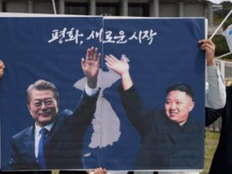 Μουν Τζε-ιν και ο Κιμ Γιονγκ Ουν