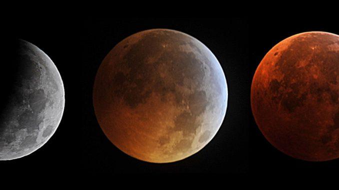 Καθηλωμένη η υφήλιος παρακολούθησε το ματωμένο φεγγάρι!