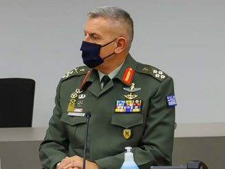 αρχηγός ΓΕΕΘΑ στρατηγός Κωνσταντίνος Φλώρος