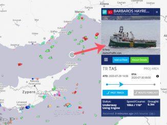 κυπριακή ΑΟΖ Barbaros
