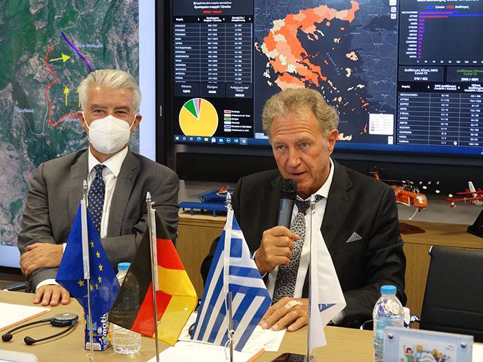 επίσκεψης του στην Ελλάδα Μπάρτλε
