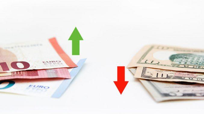 θετική ορμή του ευρώ έναντι του δολαρίου