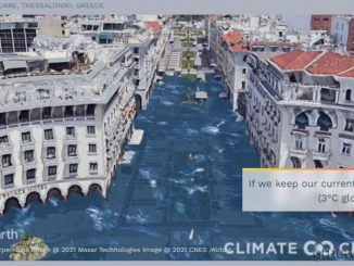 θερμοκρασία του πλανήτη αυξάνεται