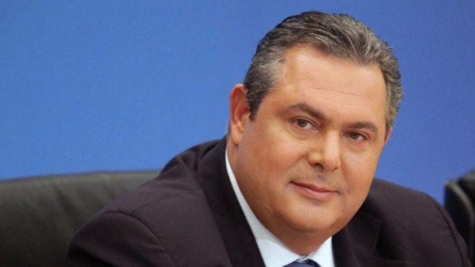 Καμμένος: Δημοψήφισμα για το όνομα των Σκοπίων!