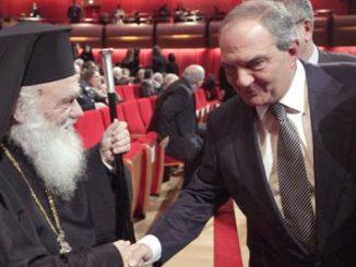 Μυστική συνάντηση Καραμανλή-Ιερώνυμου για το Σκοπιανό