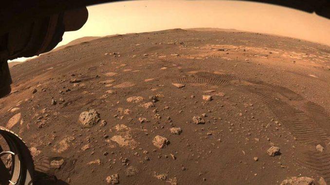 Τα πρώτα μέτρα του Perseverance στον Άρη