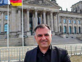 Χρήστος Πανταζής - Ο Έλληνας βουλευτής στη νέα Γερμανική Βουλή