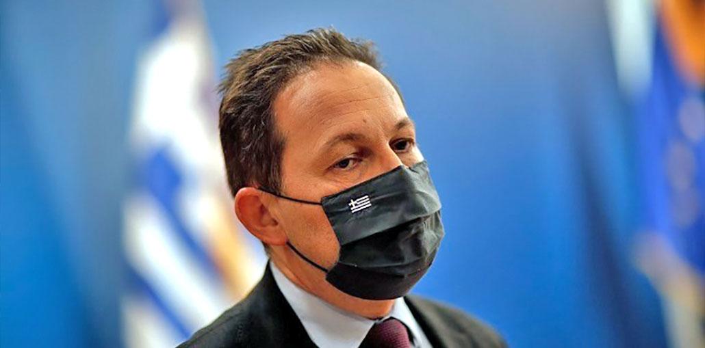 αναπληρωτής υπουργός Εσωτερικών κ Στέλιος Πέτσας