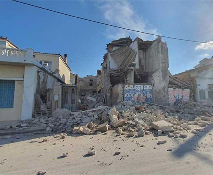 Σάμος ισχυρό σεισμό