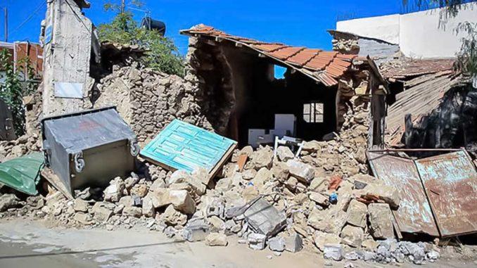 Κρήτη επλήγη σήμερα το πρωί από την καταστροφική σεισμική δόνηση