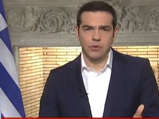 Το διάγγελμα του πρωθυπουργού Αλέξη Τσίπρα